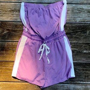 Light Purple Fashion Nova Romper